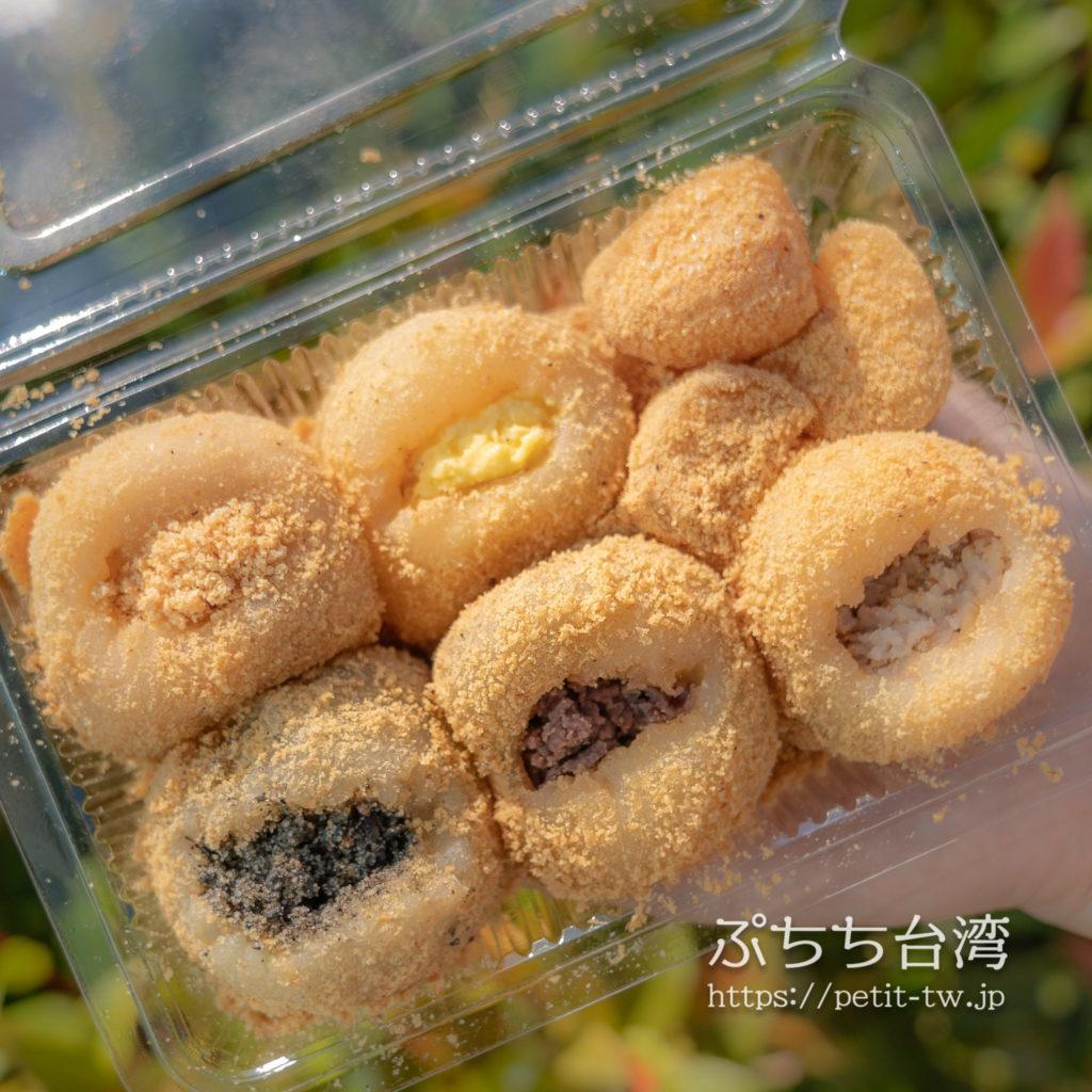 不老客家伝統麻糬のきな粉もち