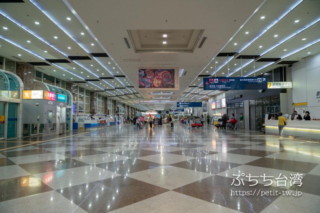 高雄国際空港の到着ターミナル