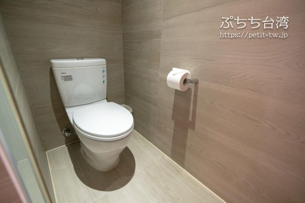 高雄インターナショナルプラザホテルのトイレ