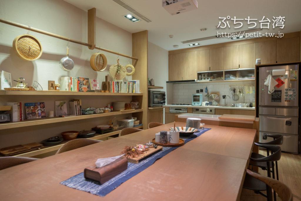 高雄の鶴宮寓(ホックハウス)の共用キッチン