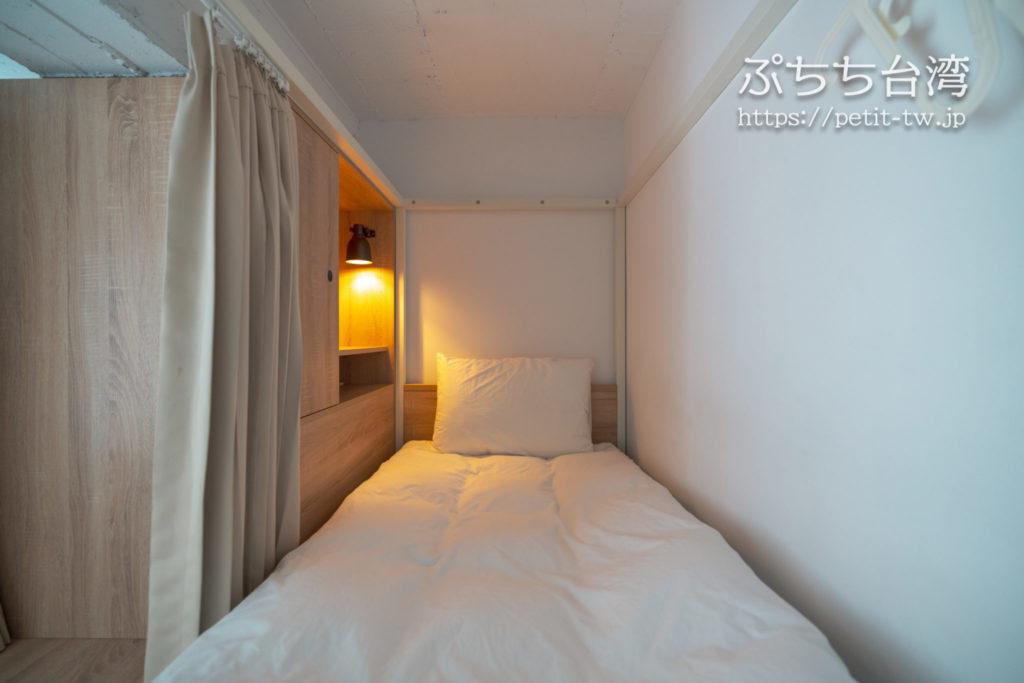 フリップフロップガーデン台北のドミトリールーム