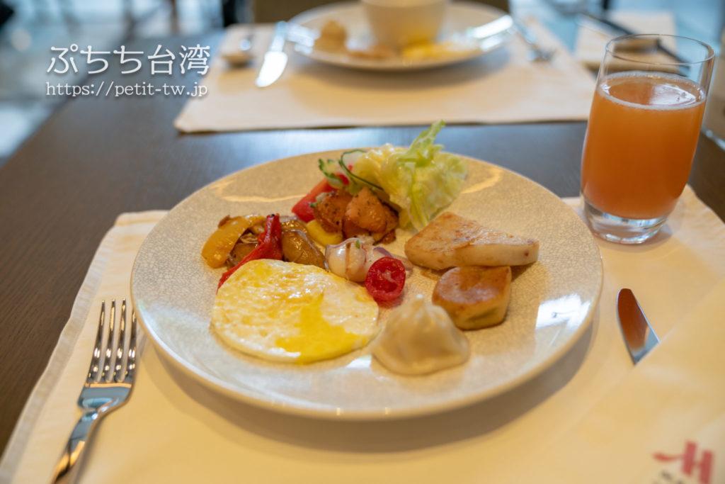 台北マリオットホテルの朝食