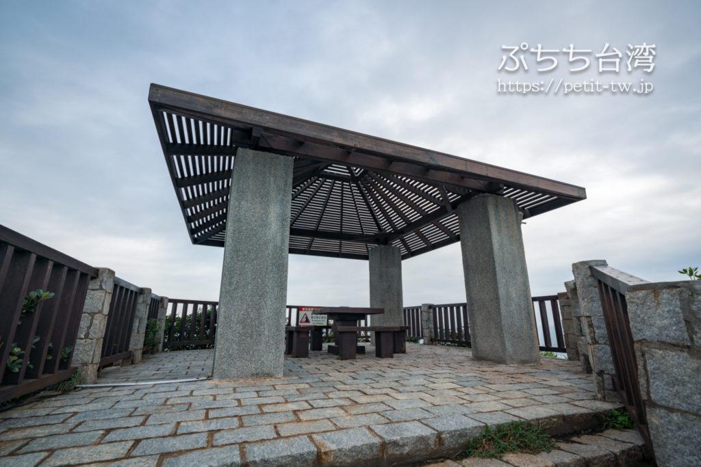野柳地質公園の展望台