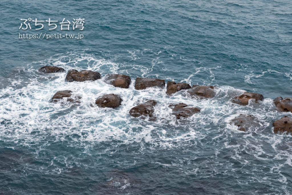 野柳地質公園の豆腐岩
