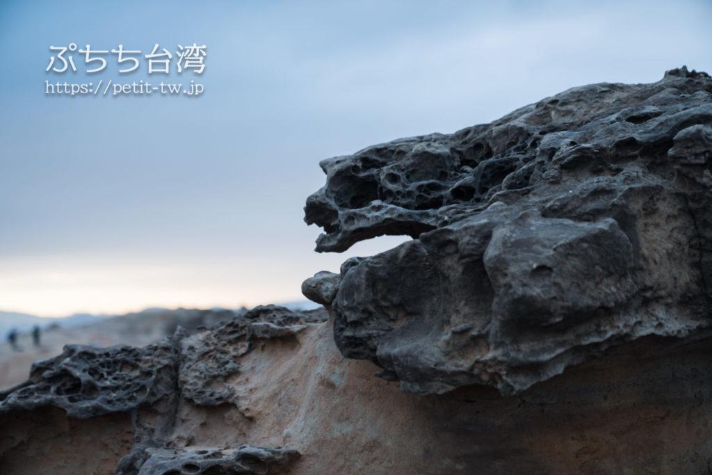 野柳地質公園の奇岩