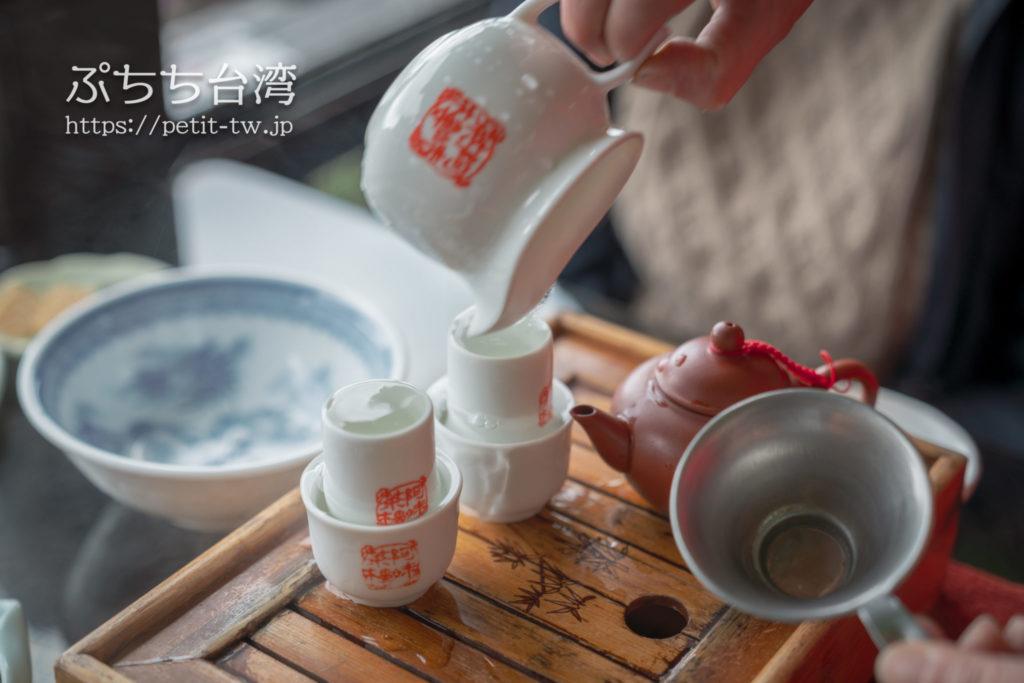 阿妹茶楼の工夫茶