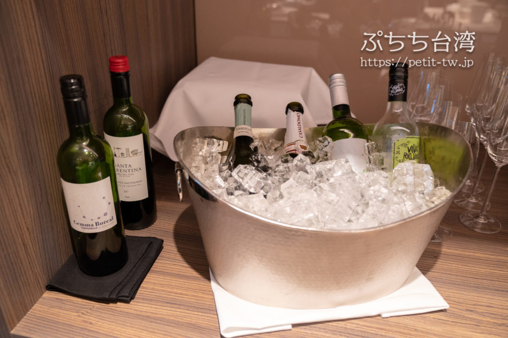 ルネッサンス台北士林ホテルのクラブラウンジのハッピーアワー アルコール類