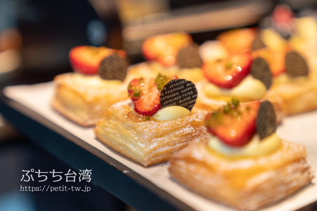 ルネッサンス台北士林ホテルのクラブラウンジの朝食