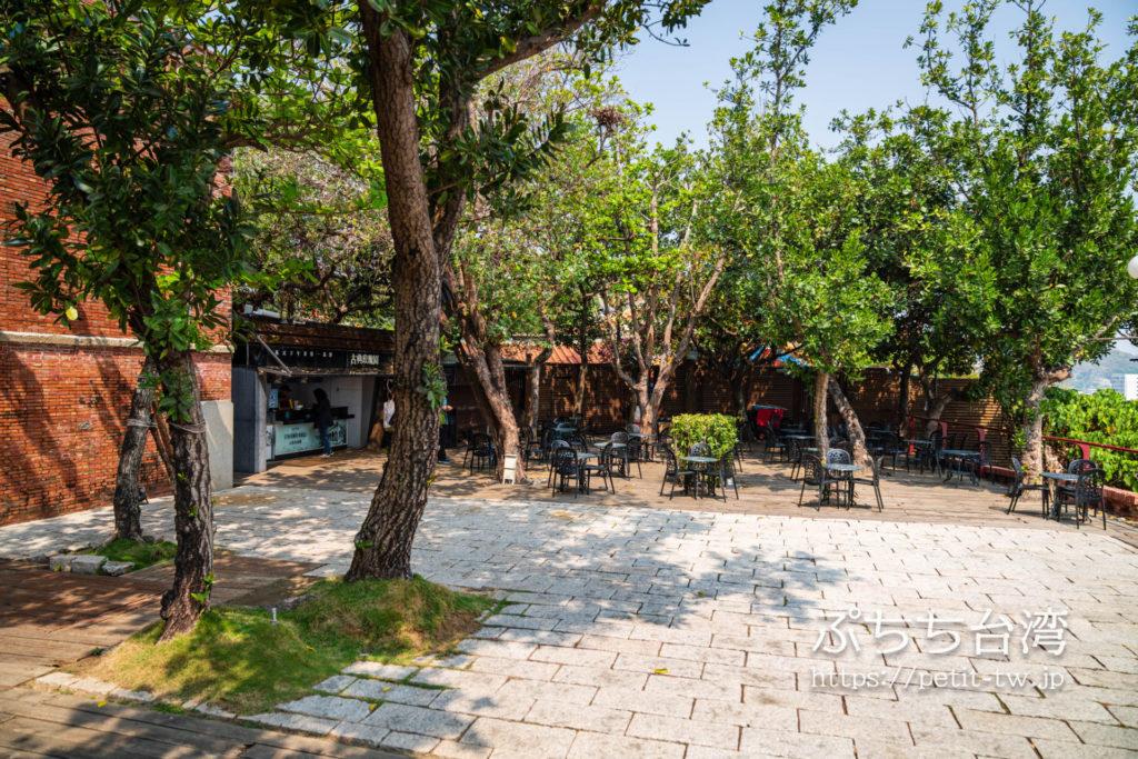 高雄の打狗英国領事館文化園区の中庭