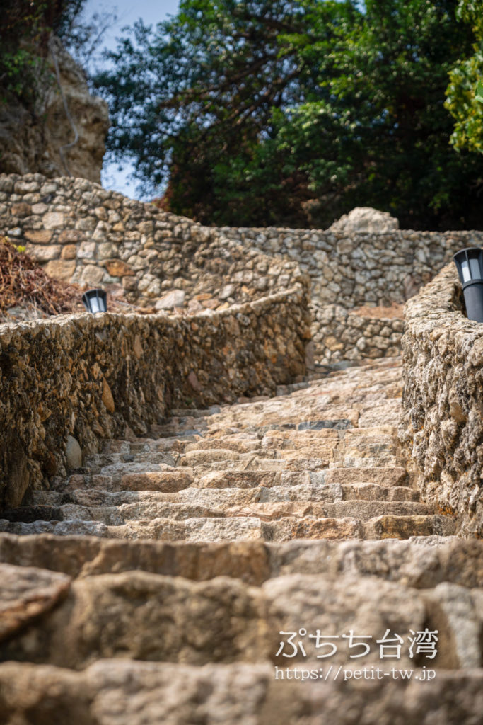 高雄の打狗英国領事館文化園区の階段