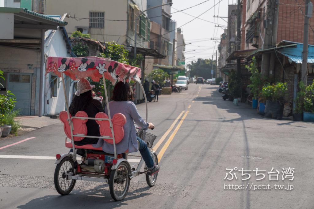 旗津半島のレンタル四輪車