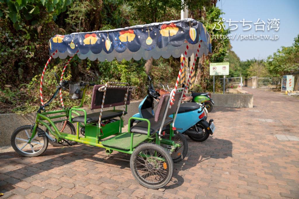 旗津半島のレンタル自転車