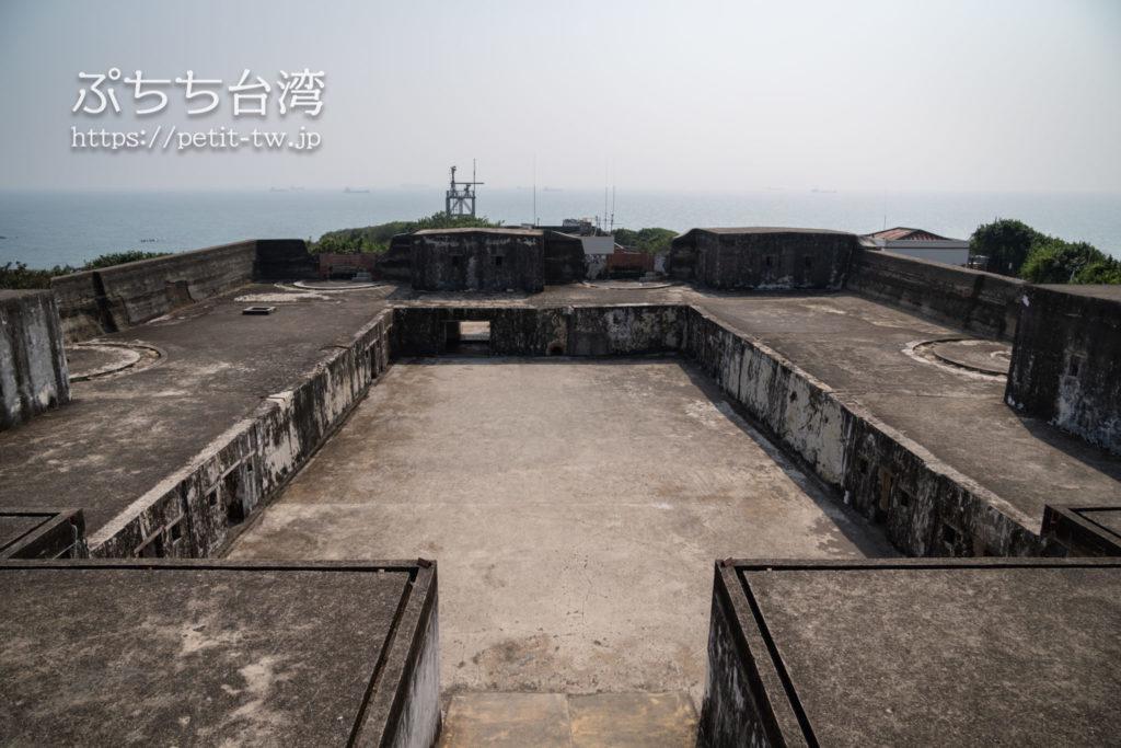 旗後砲台の砲台跡