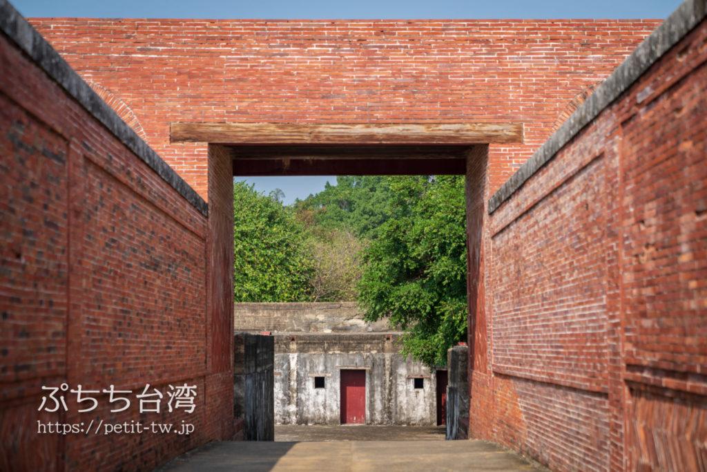 旗後砲台の赤煉瓦
