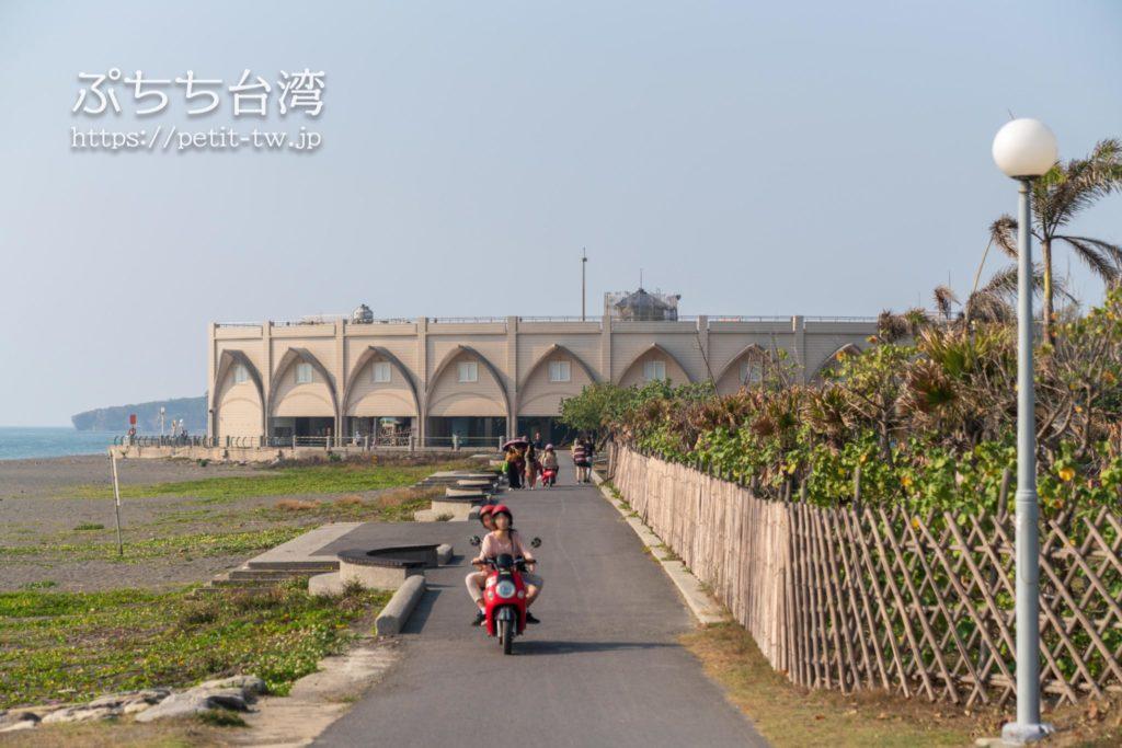 旗津半島のサイクリングロード