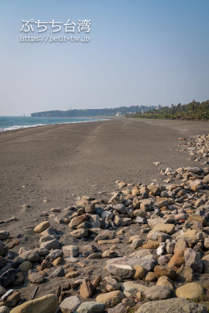 旗津半島の旗津海岸