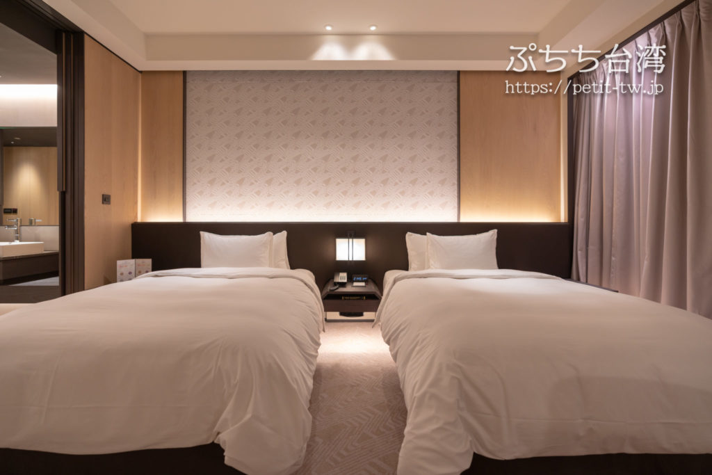 クラウンプラザホテル台南のクラウンプラザ スペシャルビュー ルーム