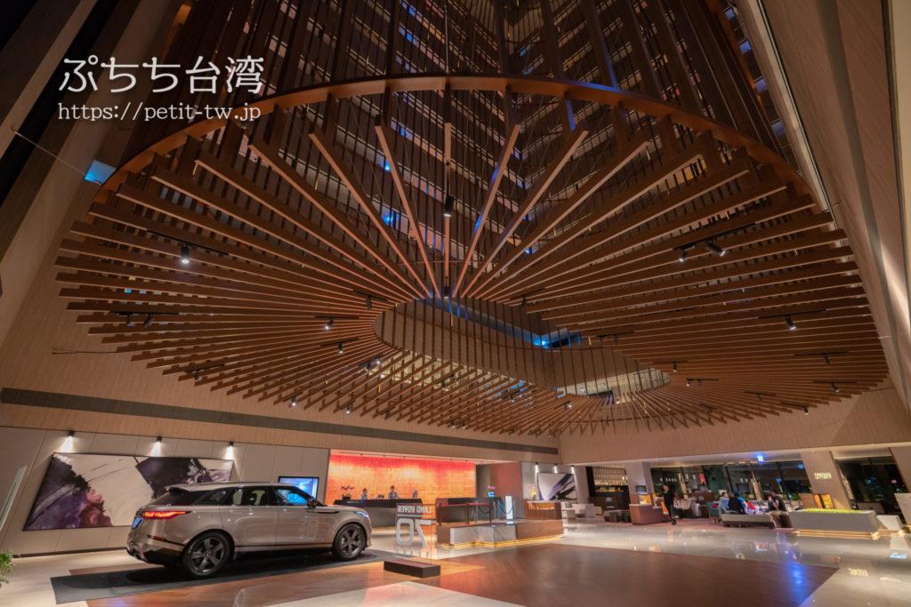 クラウンプラザホテル台南のホテルロビー