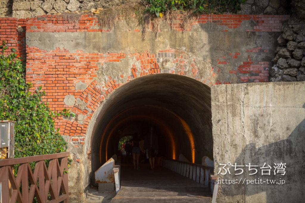 旗津半島の星空トンネル