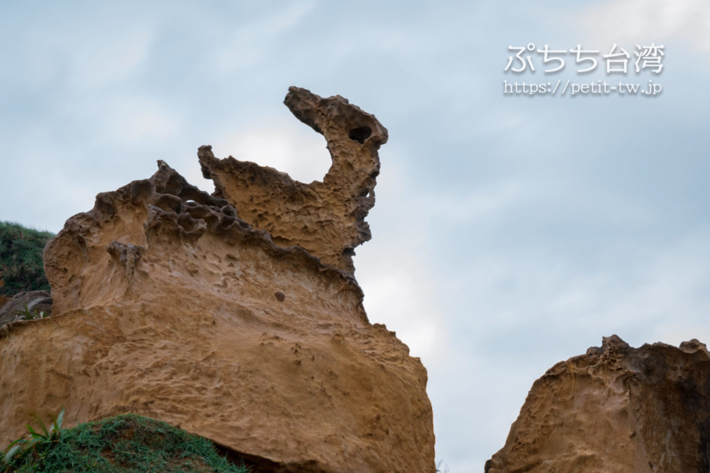 野柳地質公園の鳥岩 Bird Rock