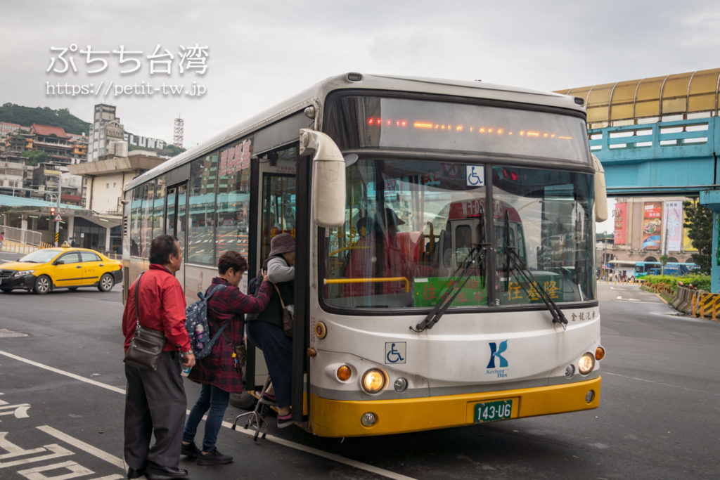 基隆客運の「788番線」バス