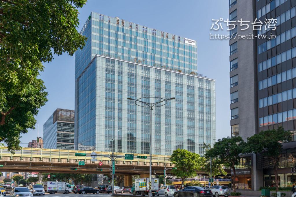 コートヤード バイ マリオット台北ダウンタウンのホテル外観