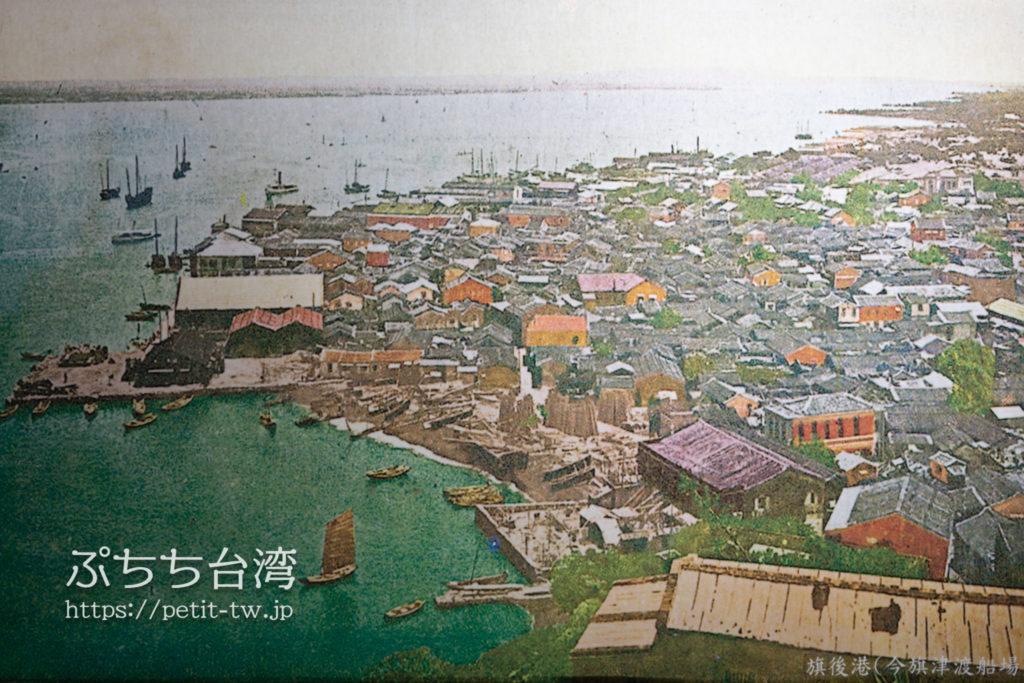 高雄85ビル展望台(高雄85觀景台、Kaohsiung 85 Sky Tower Observatory)の昔の眺望の絵