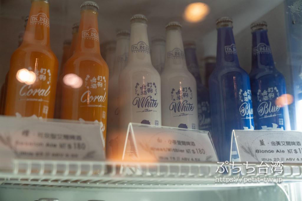 高雄85ビル展望台(高雄85觀景台、Kaohsiung 85 Sky Tower Observatory)のお土産ショップのビール