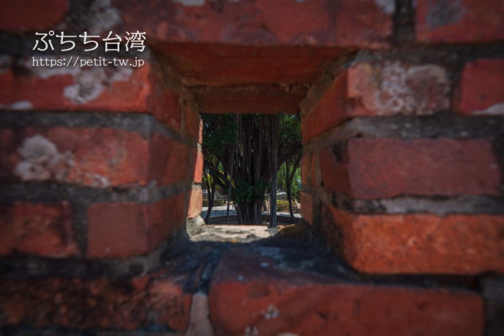 台湾府城大南門の城壁