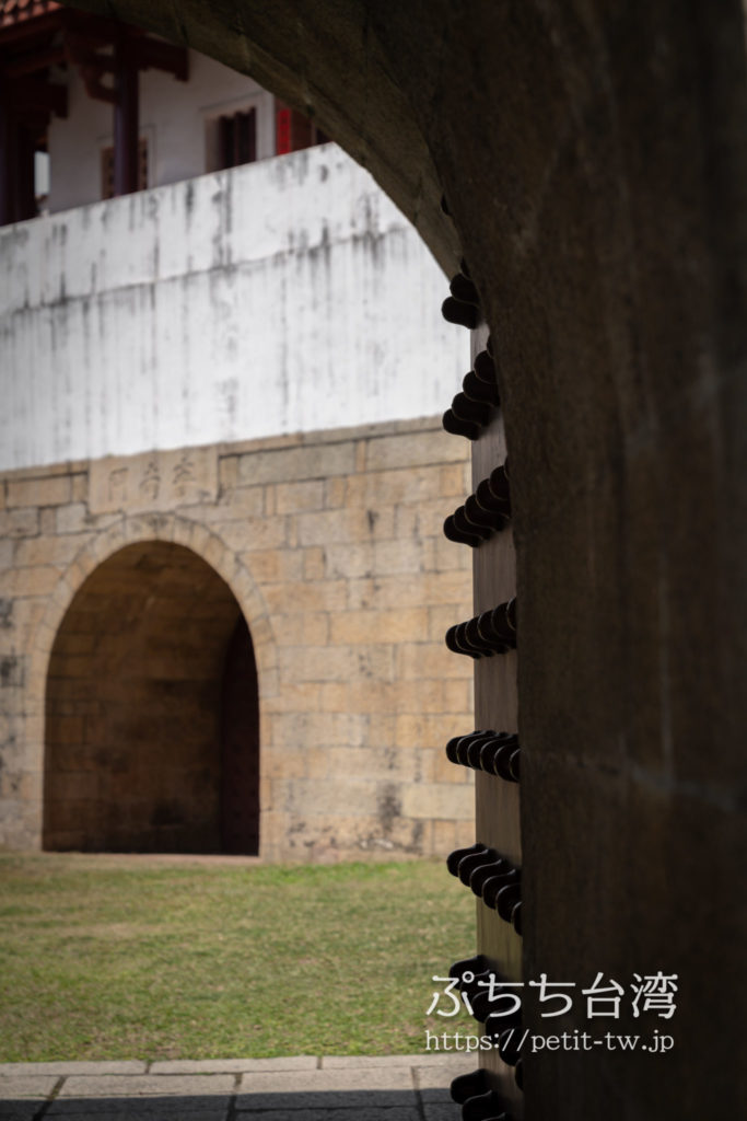 台湾府城大南門の城門