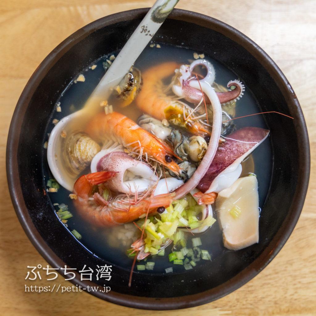 佰九海產粥の海鮮粥