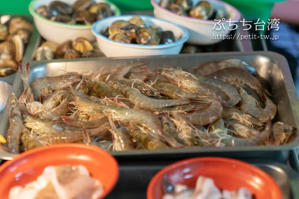 台南の佰九海產粥