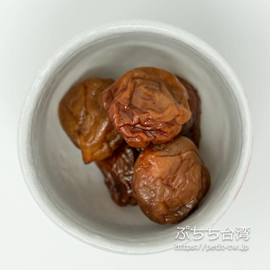 林永泰興蜜餞のドライフルーツの凍頂茶梅