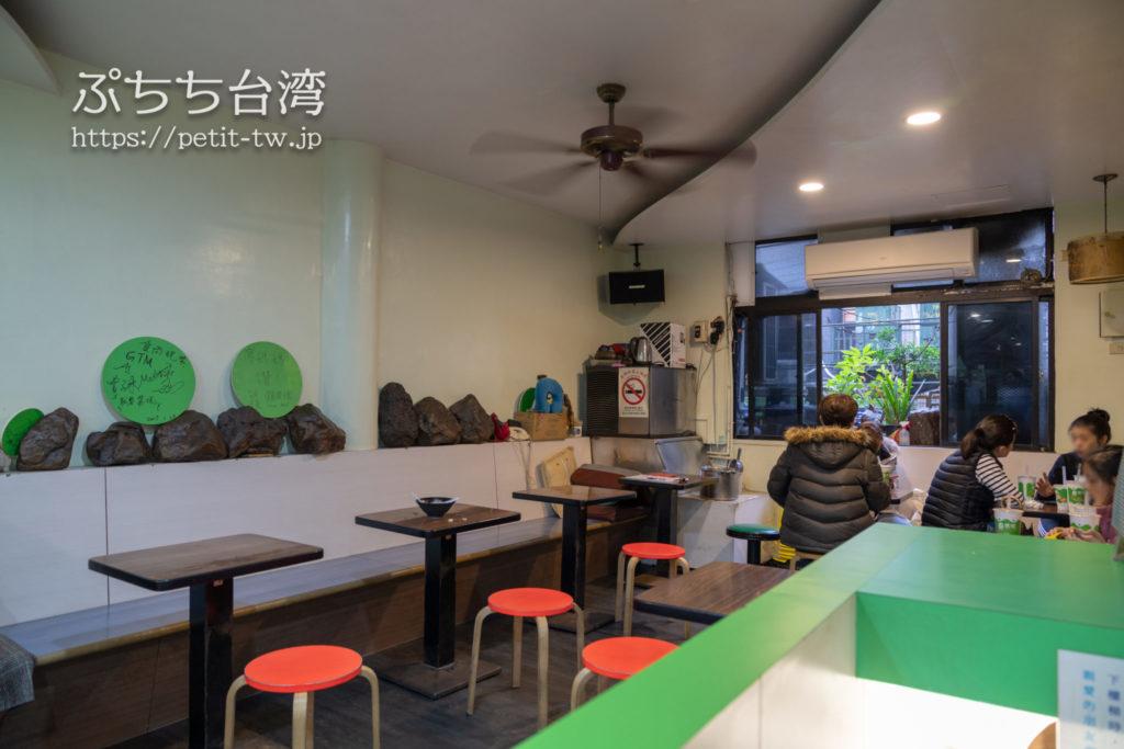廖媽媽珍珠奶茶専売鋪の店内