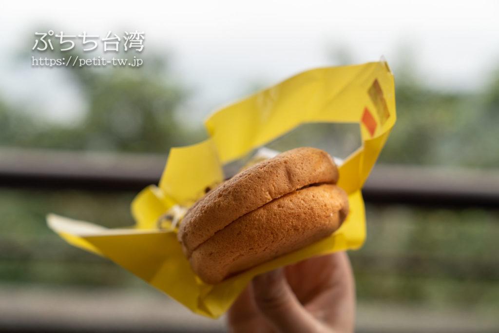 基隆連珍糕餅店のタロイモパフ