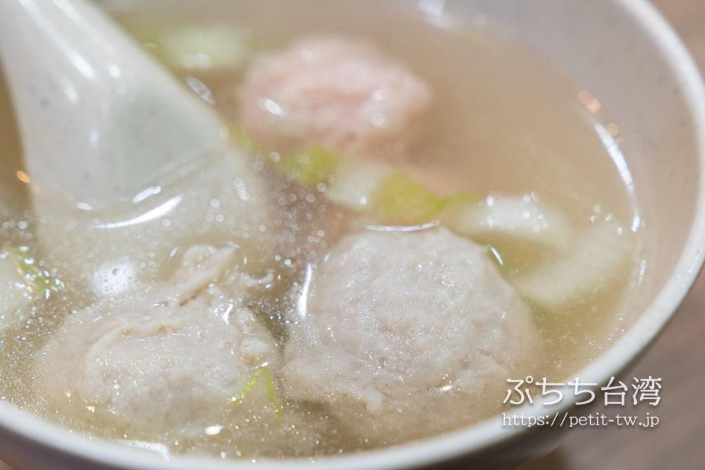 周氏蝦捲の魚スープ