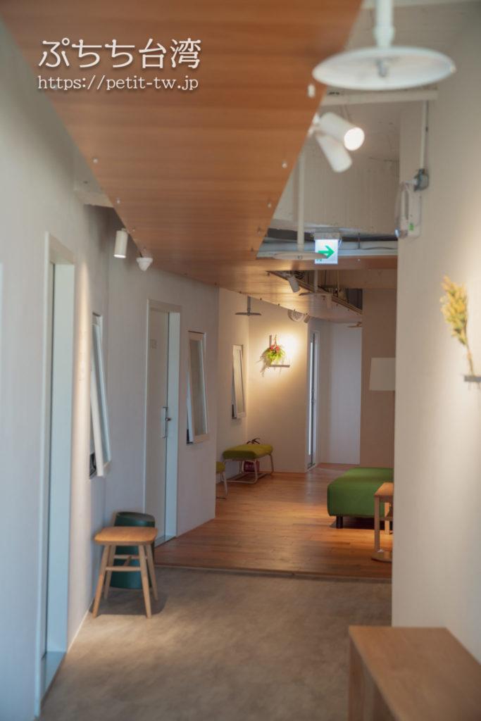 Norden Ruder Hostel(ノルデン ラダー ホステル、路得行旅 國際青年旅館)の共用廊下