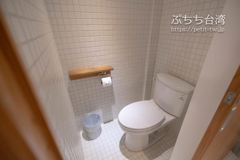 Norden Ruder Hostel(ノルデン ラダー ホステル、路得行旅 國際青年旅館)のトイレ