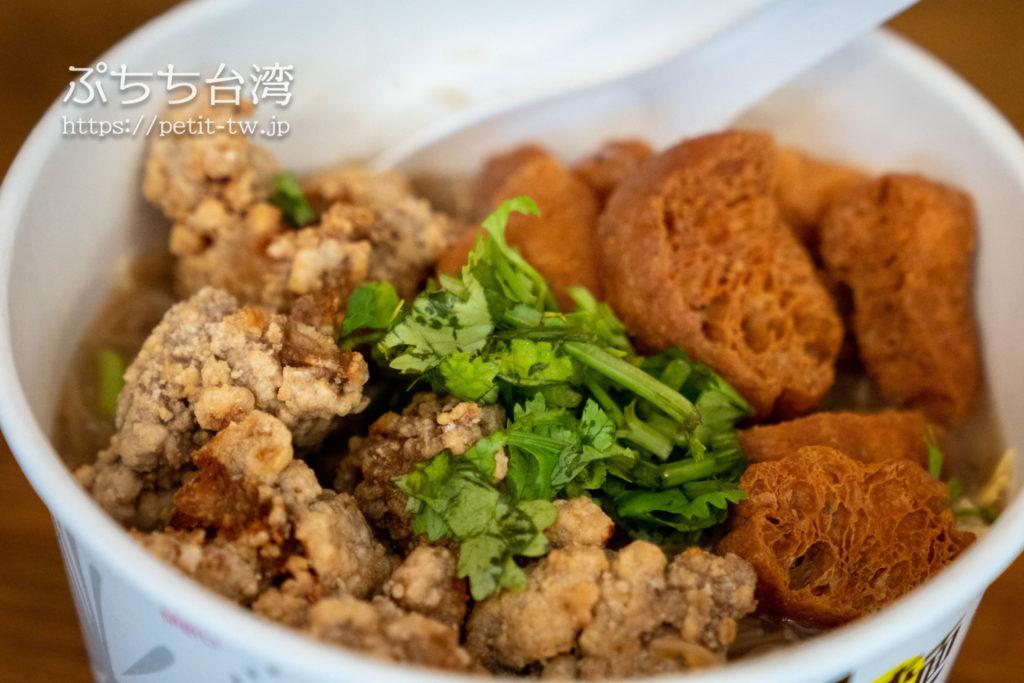 川子麺線の唐揚げ麺線