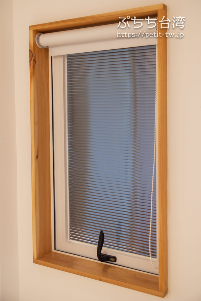 Norden Ruder Hostel(ノルデン ラダー ホステル、路得行旅 國際青年旅館)の客室の小窓