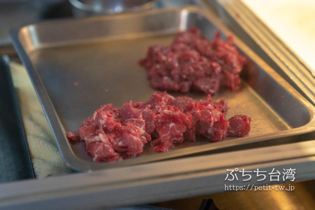 康楽街牛肉湯の店内