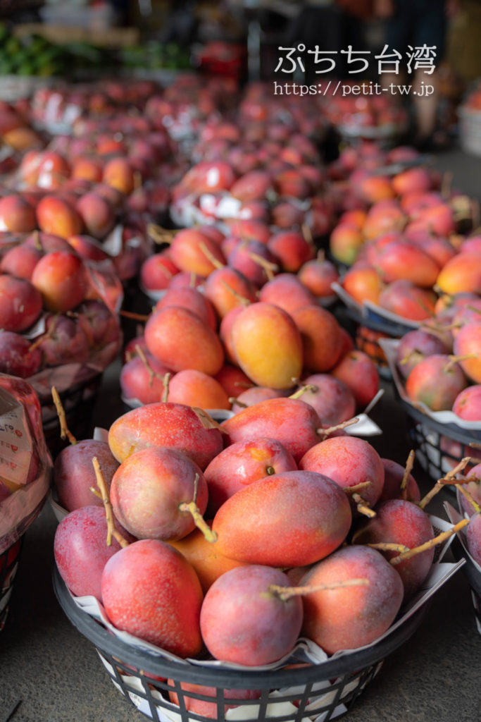 玉井芒果批発市場 玉井のマンゴー市場のマンゴー