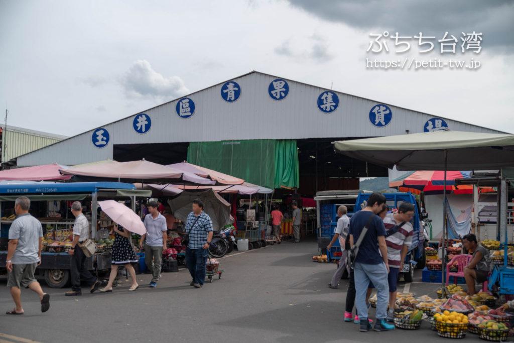 玉井芒果批発市場 玉井のマンゴー市場の外観