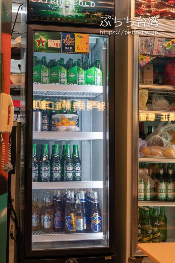 海味澎湖平價活海鮮のビール
