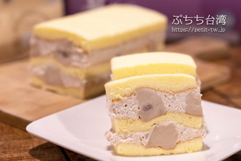 高雄不二家(不二緻果)のタロイモケーキ 真芋頭