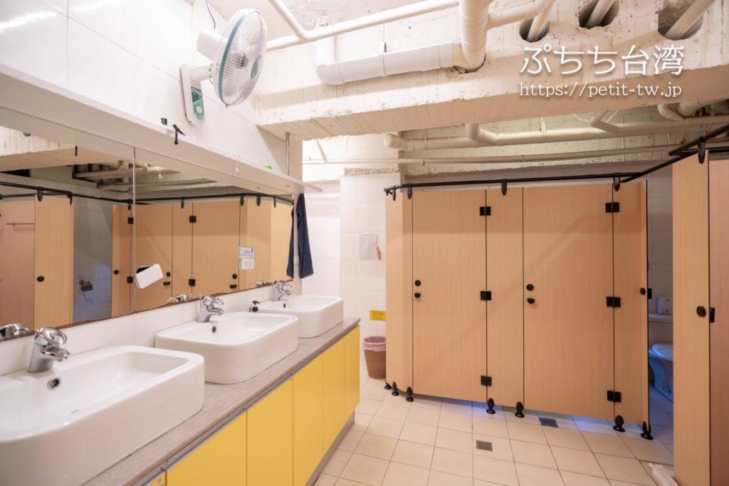 トリップGGホステル高雄(旅聚居青年旅舎)の共用バスルーム