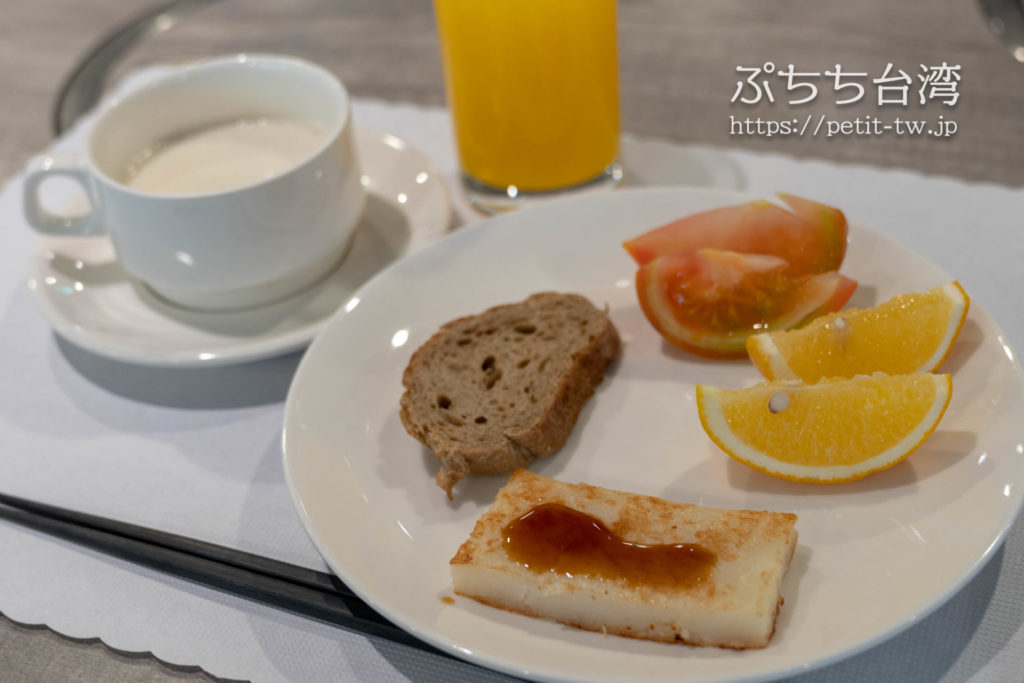 ホテルディスカバー嘉義の朝食