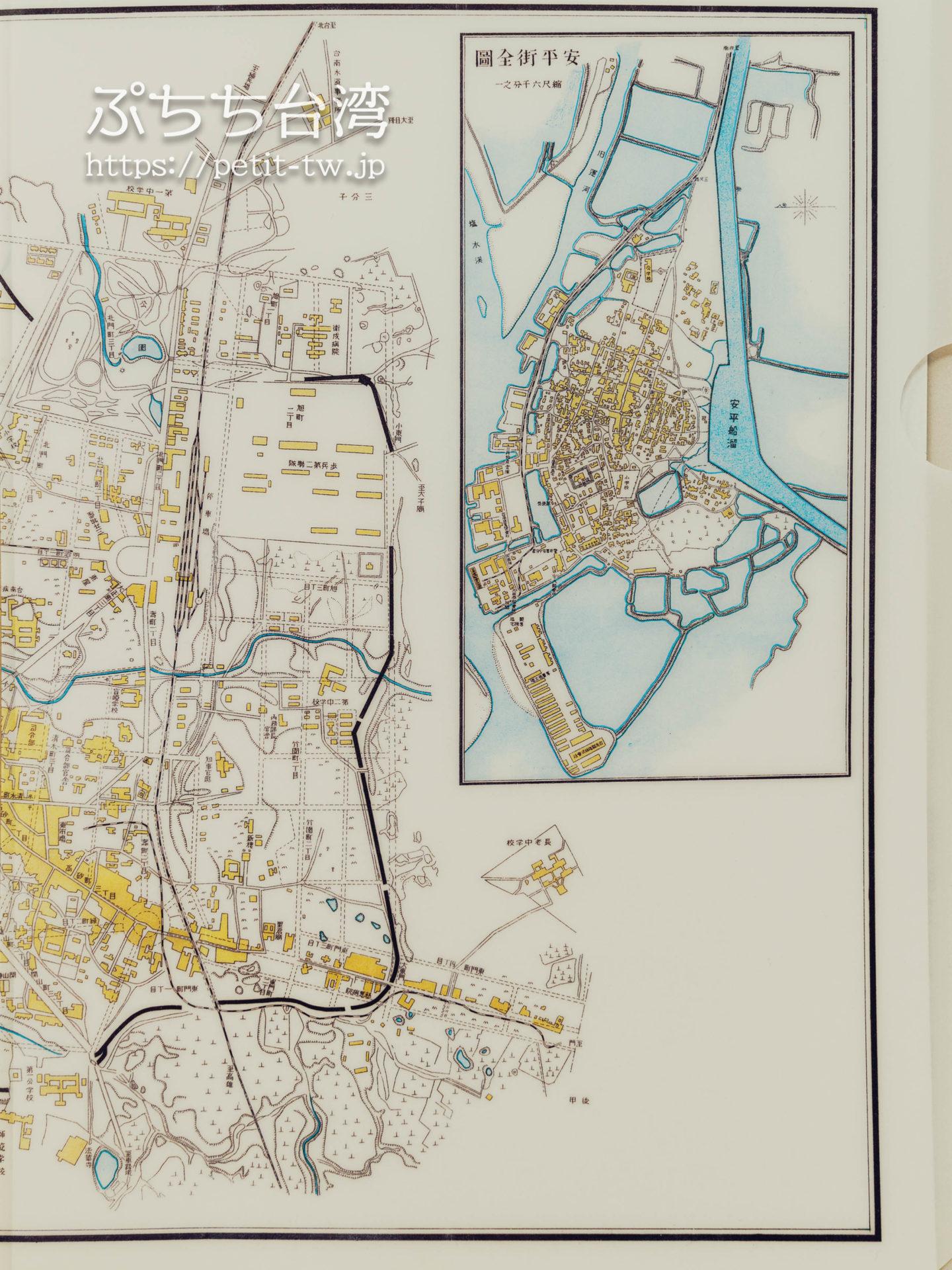 台南市全図(1924年 大正13年)