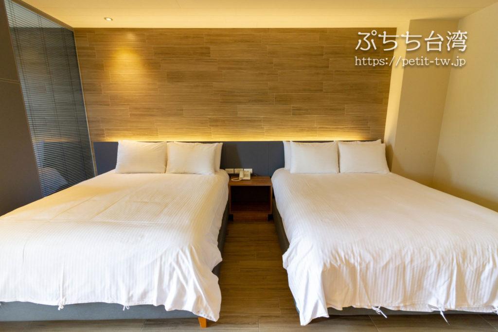 サンムーンレイク ブルースカイベイB&B 藍天水湾民宿の客室