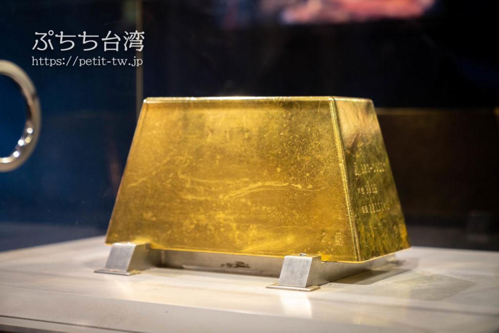 金瓜石 黄金博物館(新北市立黃金博物館)の金塊